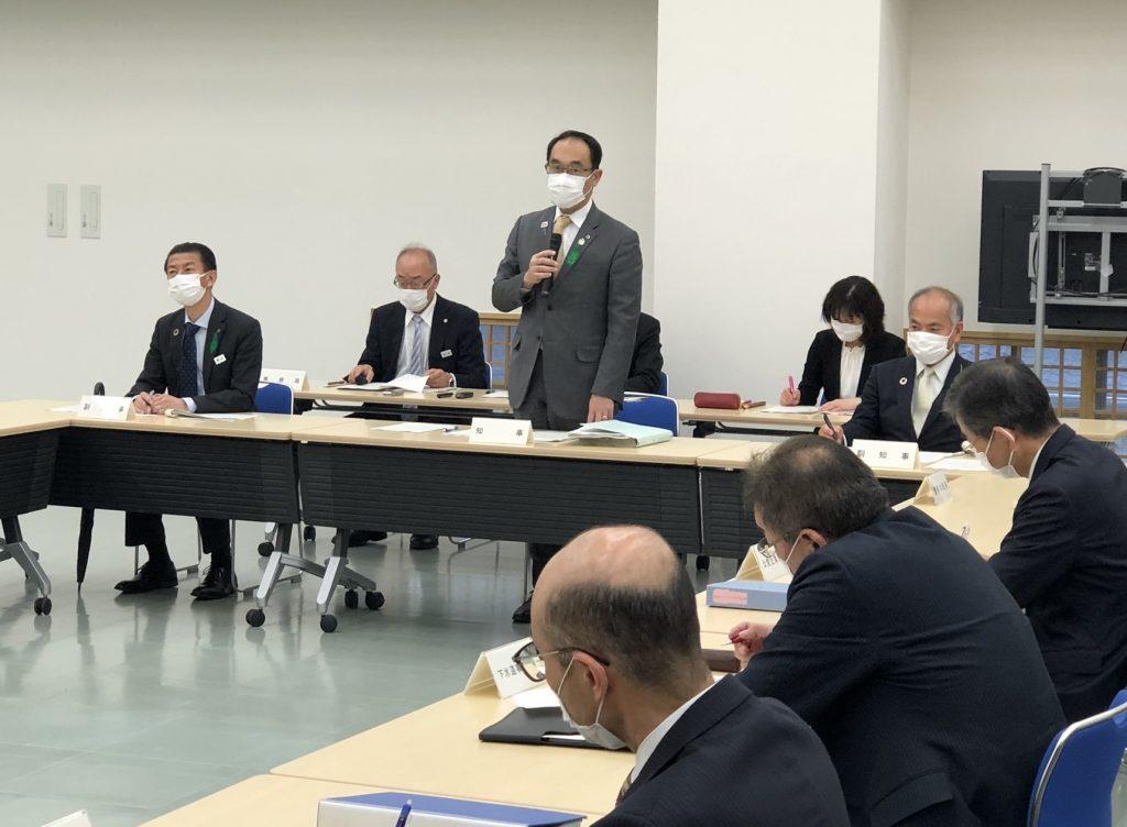 新型コロナウイルス対策本部会議